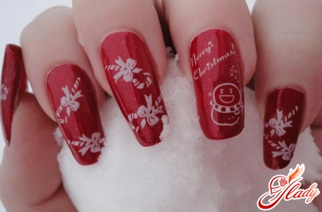New Year's nails design