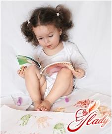 Nastenka is learning to read