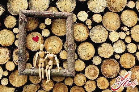 wooden wedding