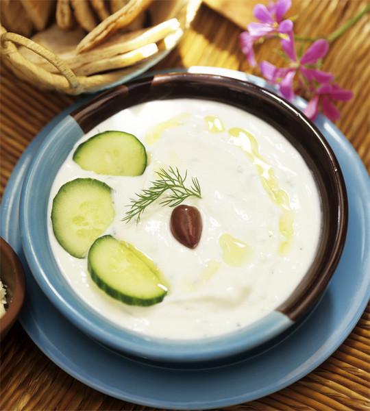 Cold Yoghurt Cucumber Soup