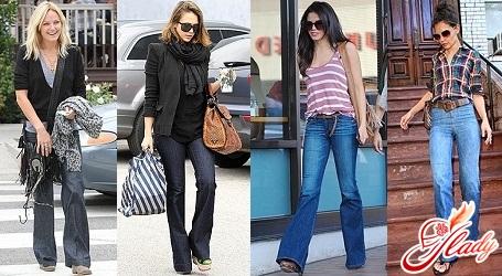knee-length jeans