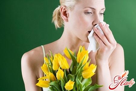 Symptoms of allergic asthma