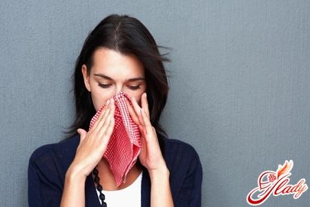неприємна алергія на пил