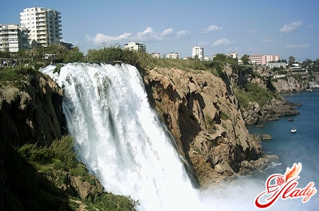 waterfalls of the river duoden