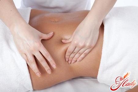 антицелюлітний масаж живота