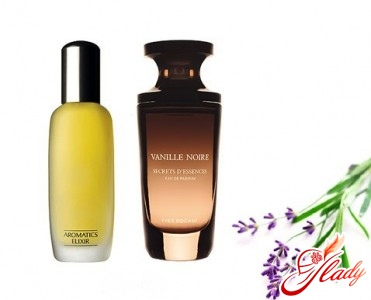 """""""Aromatics Elixir"""" from """"Clinique"""" and """"Vanille Noire"""" from """"Yves Rocher"""""""