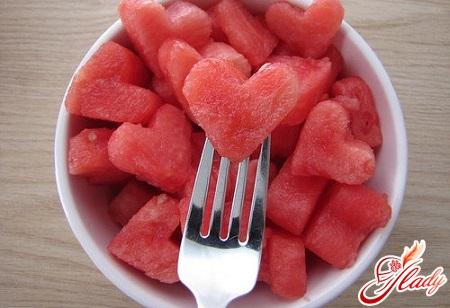 slimming on a watermelon diet