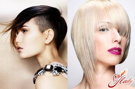 asymmetrical female haircuts