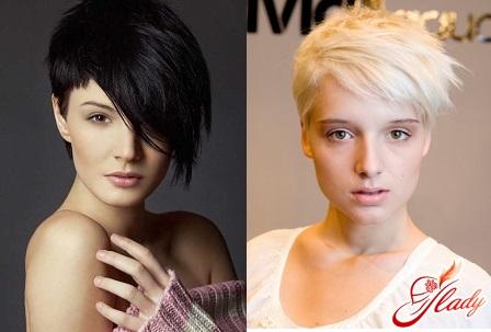 asymmetrical hair cuts for short hair