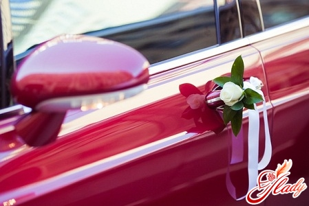 how to decorate a wedding car with your own hands