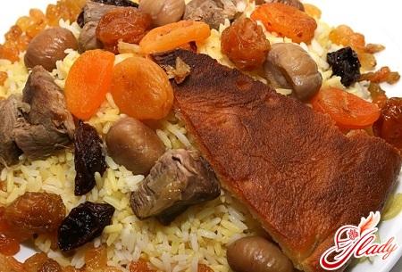 how to cook Azerbaijani pilaf