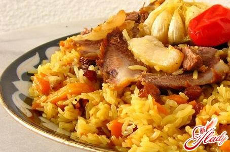 delicious Azerbaijani pilaw recipe