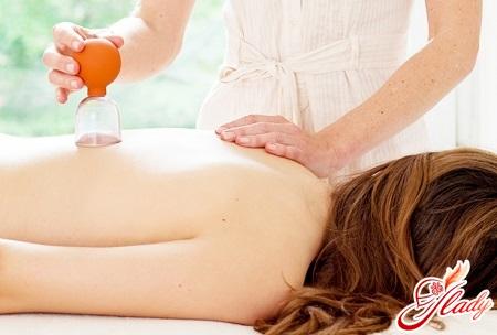 баночний масаж від целюліту