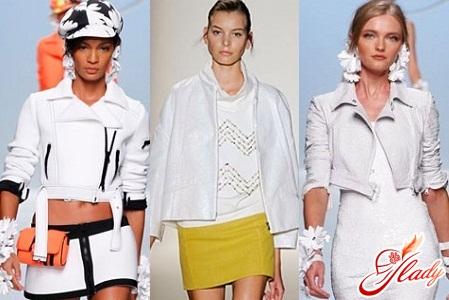 women's jacket white spring 2016