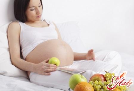 правильна білкова дієта при вагітності