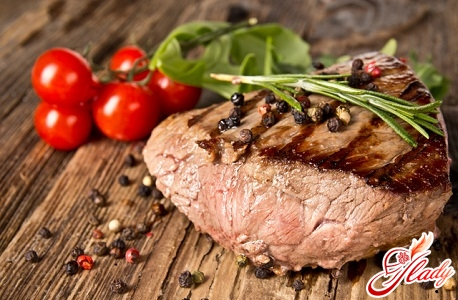 meat with a protein diet