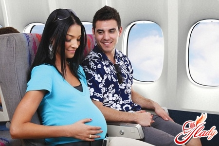 pregnancy and aircraft