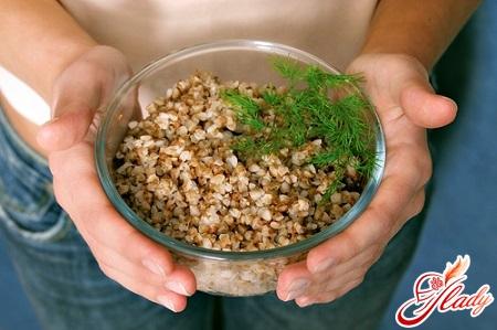 for breakfast buckwheat porridge