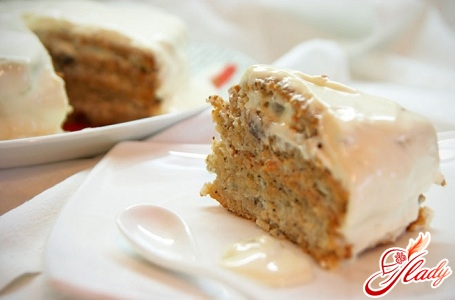 biscuit cake with curd cream