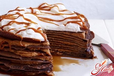 curd cream for pancake cake