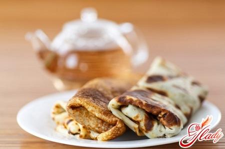 Lenten pancakes