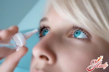 краплі для очей для профілактики