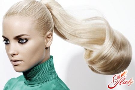bleaching of hair