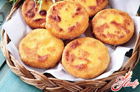dishes from corn flour