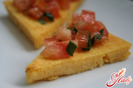 recipes of dishes from corn flour