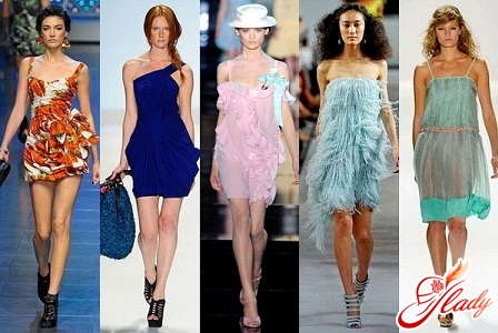 fashion dresses and sandals 2012