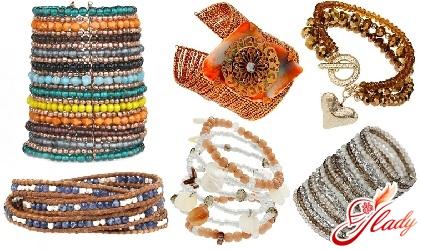 fashion bracelets from beads