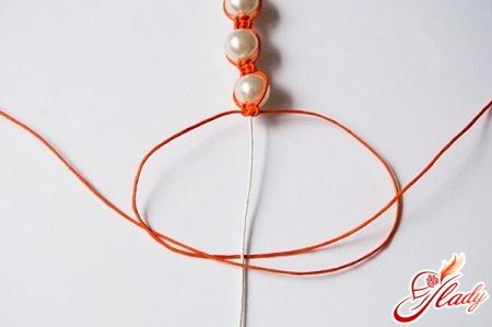 weaving bracelet shamballa