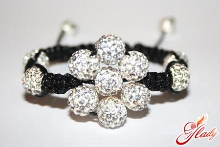 triple shamballa bracelet