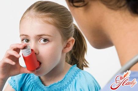 застосування засобів проти астми