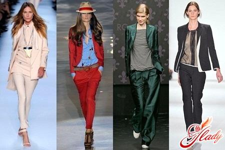 trouser suits for women 2012 photos