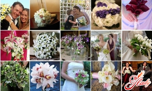 wedding bouquets for the bride photo