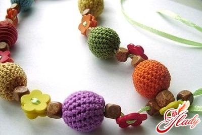 self-made beads