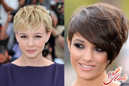 styling on short hair