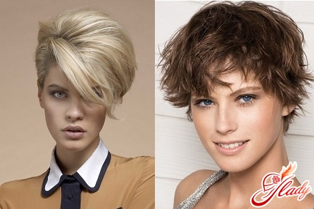 styling of short hair