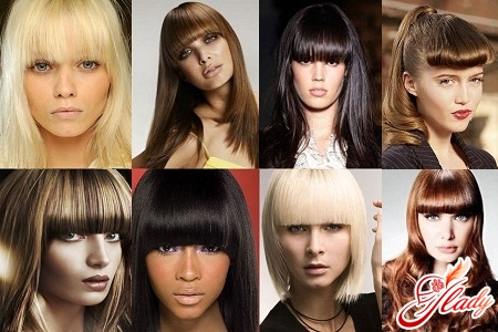 holiday hairstyles with a straight bangs