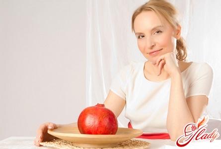 use of pomegranate