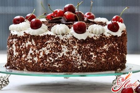 cake black forest recipe