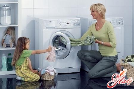 washing machine with citric acid