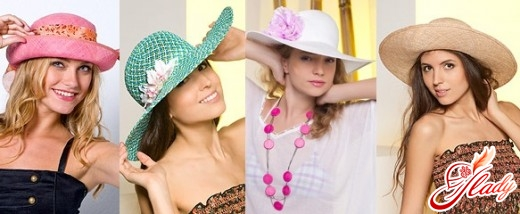 summer hats with large fields
