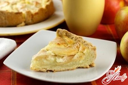 Tsvetaeva pie with apples