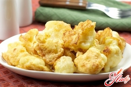 delicious cabbage in batter
