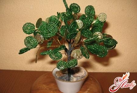 handmade bead money tree