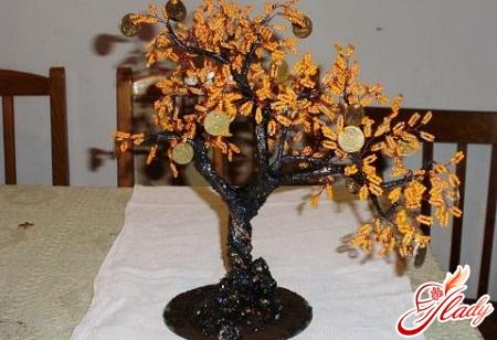 beadwork money tree
