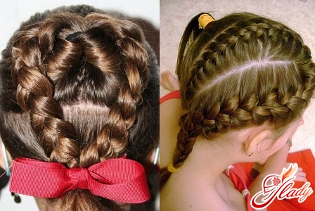 weaving for children's hairstyles