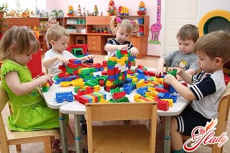 розпорядок дня в дитячому саду